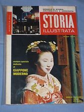 STORIA ILLUSTRATA - Agosto 1962 - Il Giappone moderno