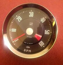 "Jaeger 4"" Revcounter , Mechanical, ROOTES 3.21:1 RECONDITIONED"