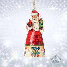 Nikolaus Santa  Jim Shore Ornament  Birdhouse Vogelhaus  Weihnachtsmann 4041108