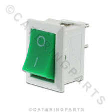 SW55 BIANCO/VERDE ON OFF PICCOLO PRINCIPALI INTERRUTTORE A BILANCIERE 6A PER