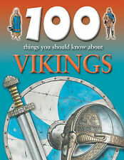 Fiona MacDonald 100 Things You Should Know About Vikings Very Good Book