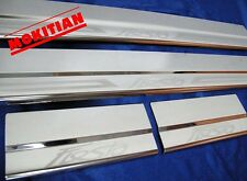 4 AND 5 DOORS HATCH BACK SILL SCUFF PLATE STAINLESS STEEL FORD FIESTA 2009-2011