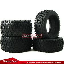 4pcs 1/10 RC Buggy Front & Rear Tires Tyres W/ Foam for Kyosho HPI Racing HSP