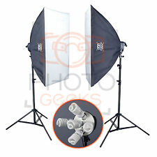 Softbox Studio Continuous Lighting Kit - 2250w - Photography Video Pro Photo Set