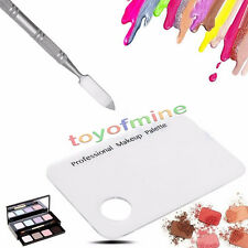 Maquillage Acrylique Nail Eye Shadow mélange Palette + inoxydable Spatule