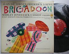ORIG. CAST Recording Brigadoon USA 60s LP Columbia 6eye