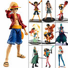 Japanese Anime Manga One Piece the New World Luffy Nami Zero PVC Figure Toys Set