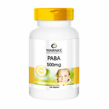 Warnke PABA - Vitamin B 10 - 500mg (14.31€/100g)  100 Tabletten