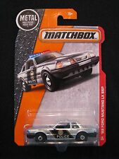 Matchbox '93 Ford Mustang LX SSP Silver 66/125 MBX Heroic Rescue Metal Parts