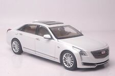 Cadillac CT6 car model in scale 1:18 white