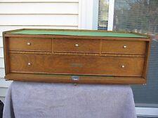 Gerstner USA  oak  riser base  machinist tool chest box