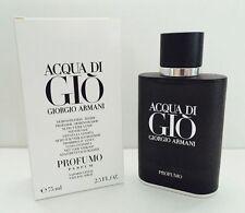 ACQUA DI GIO PROFUMO PARFUM GIORGIO ARMANI 2.5 FL. OZ. e75 ml MEN COLOGNE SPRAY