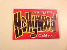 Greetings From Hollywood Postcard Pack - 1978 - Great Shape