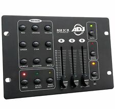 American DJ RGB3C IR 3-Channel RGB DMX Lighting Controller w/ Fader & Blackout