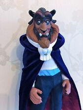 "Disney Store BNWOB 12"" Winter Beast Doll Deluxe Beauty and the Beast"