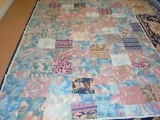 Nice Multi-Color Floral Pattern Hand Tied Quilt