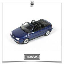 Minichamps 1/43 - VW Volkswagen Golf III cabriolet 1993 bleu foncé métallisé