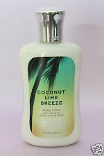 LOT 1 COCONUT LIME BREEZE BATH & BODY WORKS HAND & BODY LOTION CREAM 8 FL OZ EA