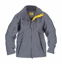 Caterpillar C085 Mens Deluxe Jacket Polyester  WATERPROOF Water Resistant  XL
