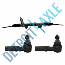 Power Steering Rack & Pinion Assembly + 2 Outer Tie Rod Ends for Dodge Ram 1500