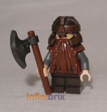 Lego Gimli from Set 71220 Dimensions Version Lord of the Rings Dwarf NEW dim007