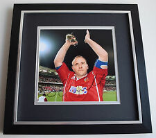 Scott Quinnell SIGNED Framed LARGE Square Photo Autograph display AFTAL & COA