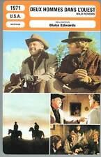 DEUX HOMMES DANS L'OUEST - Holden,Edwards (Fiche Cinéma) 1971 - Wild Rovers