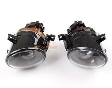 Pair Of Front Bumper Convex Lens Fog Lights Lamps For VW Golf Gti Jetta MK5 Eos