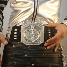 Michael Jackson Japan Bad World tour Sliver alloy Belt - MJ COSTUME