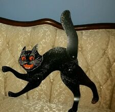 1LARGE BEISTLE BLACK JOINTED-SCAT CAT��VINTAGE STYLE REPRO-1928 DESIGN+LOW SHIP!