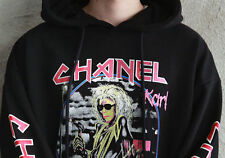 FEAR OF GOD oversized imprimé Karl chanel Printed Hoodie S-XL Black capuche pull
