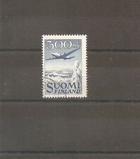 TIMBRE FINLAND FINLANDE AIRMAIL 1950 PA N°3 OBLITERE USED