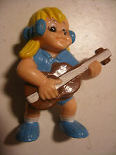 Figurine Vintage 1983 PVC SCHLEICH SPORT BILLY Fille Guitare Lilly S B