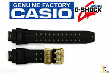 CASIO G-SHOCK GW-A1030A-1AJ Black Rubber Watch BAND Strap 30th Anniversary