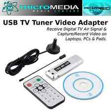 MediaVision USB 2.0 Digital TV Tuner-Receiver Adapter Dongle TV DVB-T FREE SHIP!