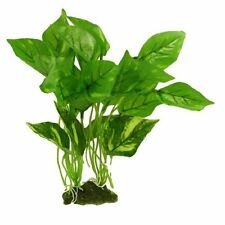 "AquasCaPing 11.8"" Height Green Plastic Grass Plant For Fish Tank Aquarium"