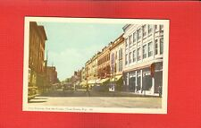 Trois Rivieres, Rue des Forges, Three Rivers, Quebec, Canada 1930's cars