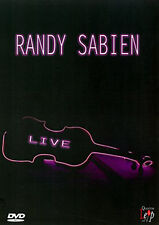 RANDY SABIEN LIVE - DVD - REGION 2 UK