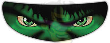 Hulk Helmet Visor Sticker Motorcycle Biker Superhero Shield Decal Tint Eyes NEW