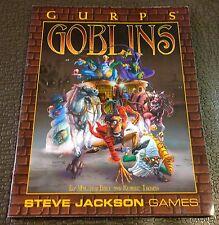 RPG GURPS Goblins Roleplaying Steve Jackson games, Malcolm Dale & Klaude Thomas