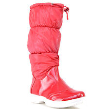 BOTTES FEMME 40 SNOW APRES SKI ROUGE SEMELLE BLANCHE FOURREE RAYDY zaza2cats