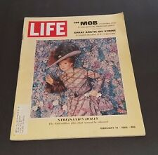 February 14, 1969 LIFE Magazine Streisand 60s advertising FREE SHIPPING Feb. 2