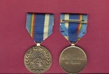 UN United Nations Military medal for Mali Stabilization UNMINUSMA