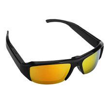 Mini 1280x720 DVR Sunglasses Video Camera HD Cam Glasses Video Recorder Black