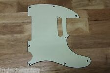FENDER TELE TELECASTER STYLE PICKGUARD 3 PLY MINT GREEN 8 HOLE MADE IN KOREA
