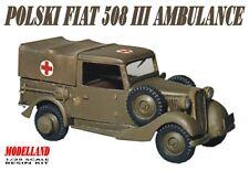 Polski FIAT 508 AMBULANCE MILITAIRE-Pologne 1939 1/35 modelland
