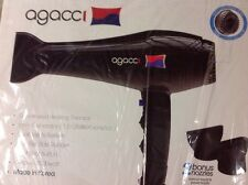 NEW H2PRO A2000 Agacci Hair Dryer 1900 Watt 2 speed & 3 heat settings two nozzle