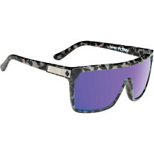 Spy Optic 648478755017 Flynn Sunglasses Spotted Tort Frames Purple Spectra Lens