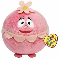 TY BEANIE BALLZ - FOOFA 38060 (flower bubble) - RETIRED - NEW