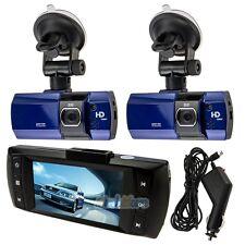 """2 x New 2.7"""" Full HD 1080P Car DVR HDMI Camera Video Recorder Dash Cam G-Sensor"""